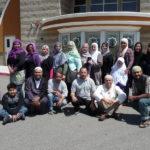 Grupo de LALMA en la mezquita de Fontana, California: ar-Rahman Islamic Center.