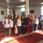 Grupo de LALMA celebrando a una nueva hermana en el islam, noviembre 2018.