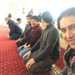 Después de la oración, mezquita Umar ibn al-Khattab, Los Angeles.