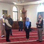 Shahada, testimonio de fé, de Noemí en la mezquita Umar ibn al-Khattab, abril 2018.